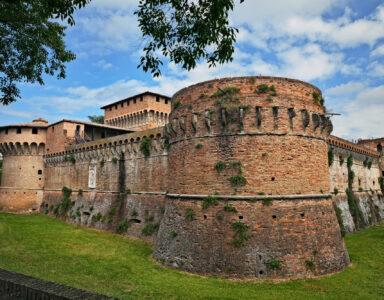 Forli, Emilia-Romagna, Italy: ancient fortress of Caterina Sforza, italian medieval castle